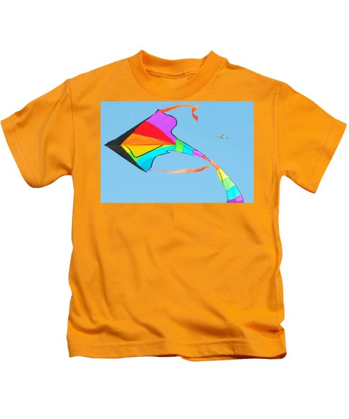 Flight And The Kite Kids T-Shirt