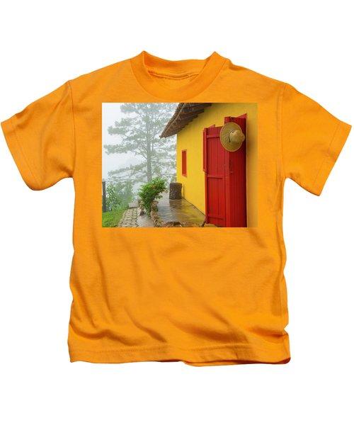 Top Of The Mountain Kids T-Shirt