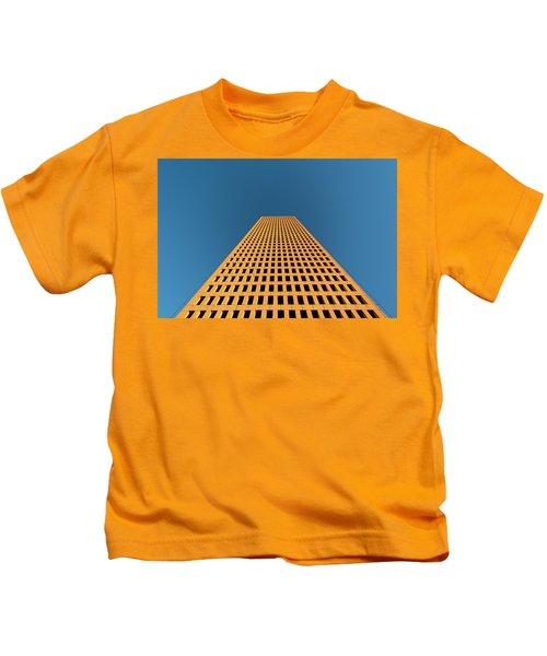 Tower At Sunset Kids T-Shirt