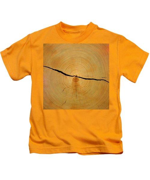 Tree Rings Kids T-Shirt