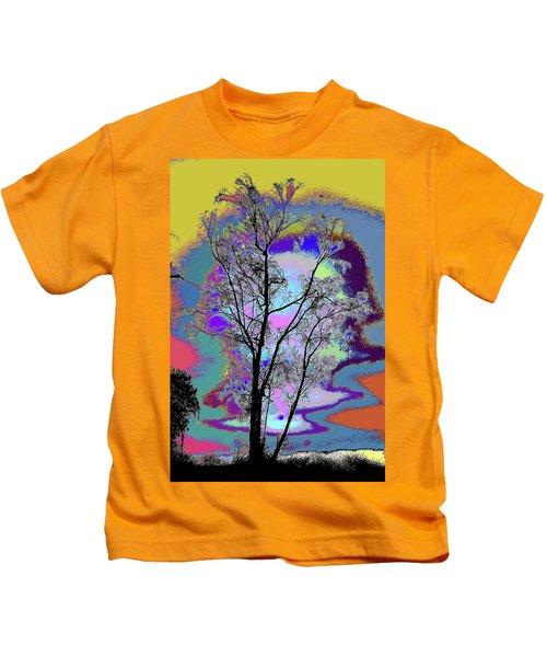 Tree - Story Of Life Kids T-Shirt