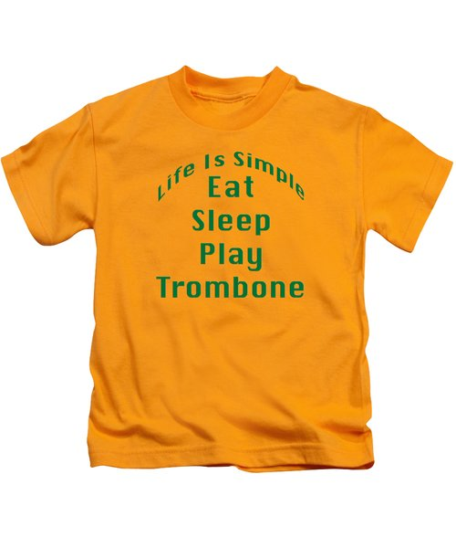 Trombone Eat Sleep Play Trombone 5517.02 Kids T-Shirt