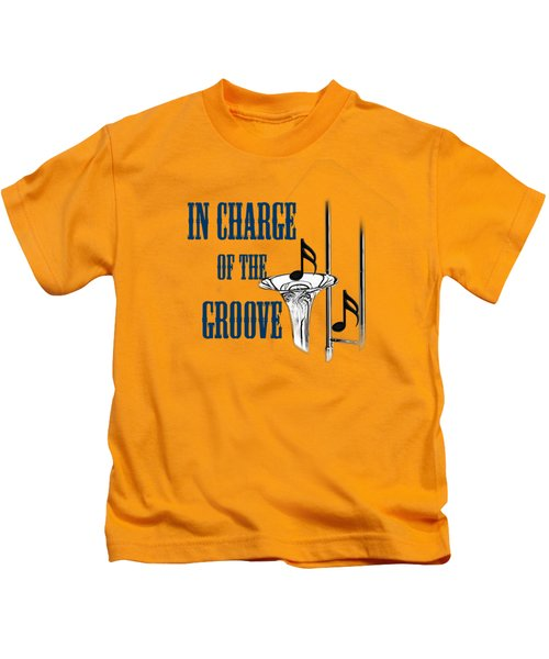 Trombones In Charge Of The Groove 5533.02 Kids T-Shirt