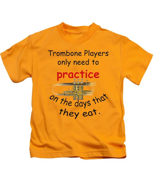Trumpets Practice When They Eat Kids T-Shirt