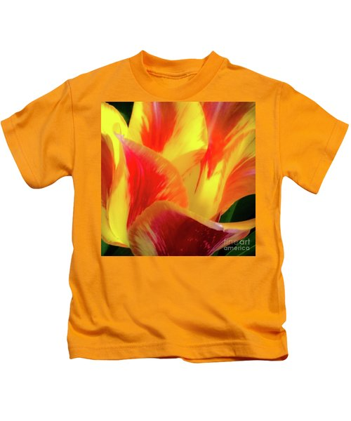Tulip In Bloom Kids T-Shirt