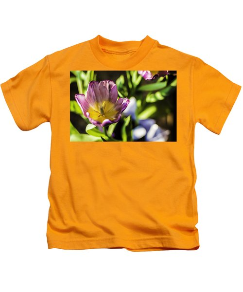 Tulips At The End Kids T-Shirt