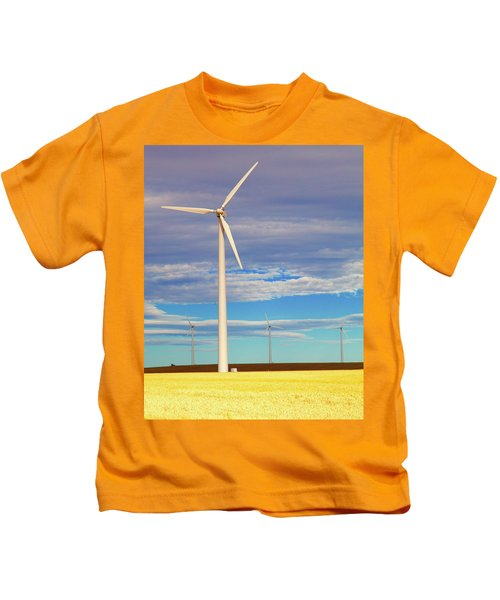 Turbine Formation Kids T-Shirt