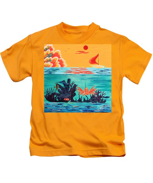 Bright Coral Reef Kids T-Shirt