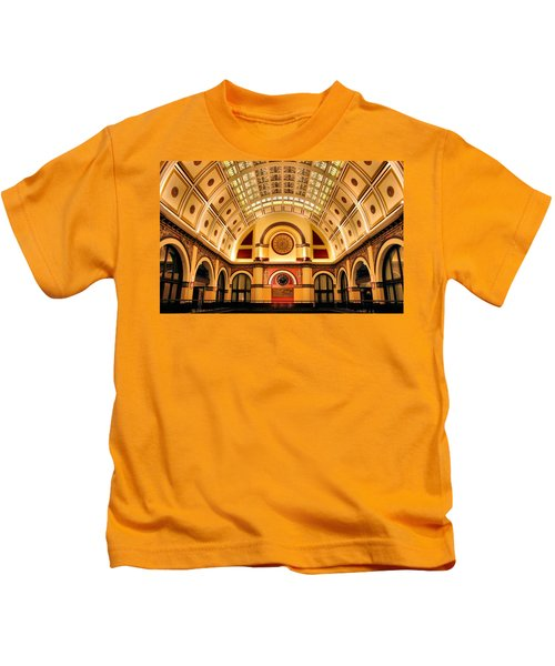 Union Station Balcony Kids T-Shirt