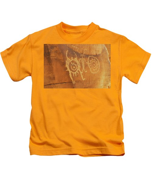 Utah Rock Art II Kids T-Shirt