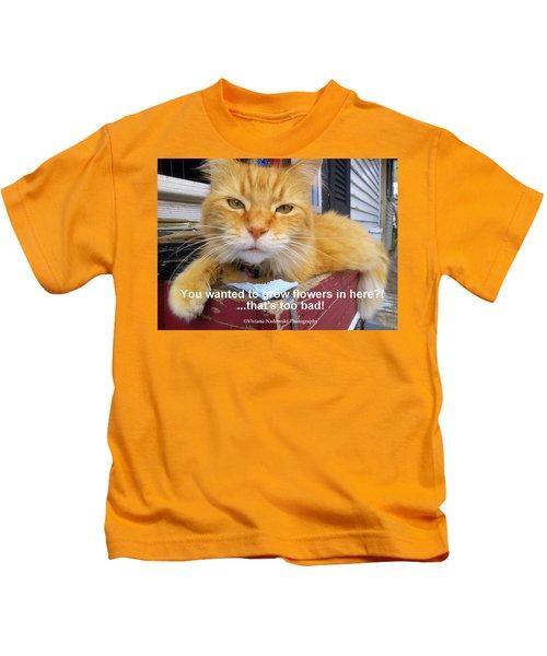 Utter Defiance Kids T-Shirt