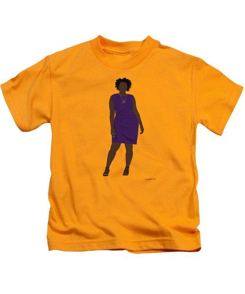 Vanessa Kids T-Shirt by Nancy Levan