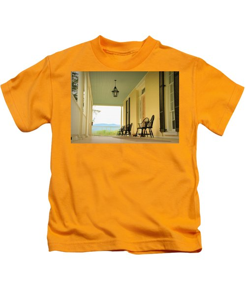 View From Cedar Grove Kids T-Shirt
