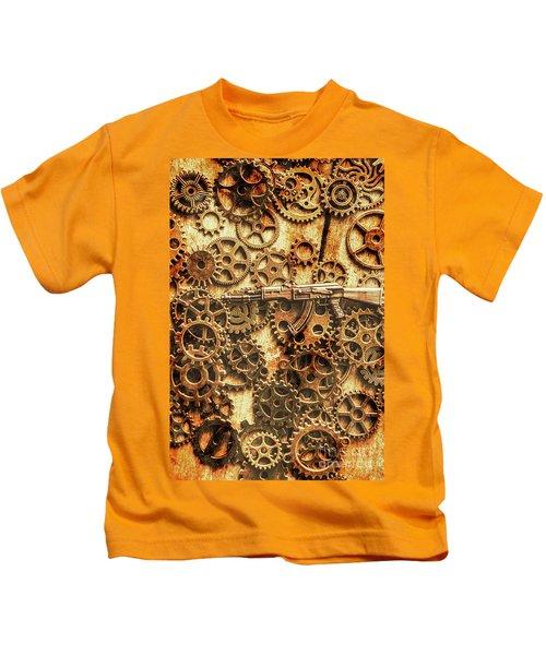 Vintage Ak-47 Artwork Kids T-Shirt
