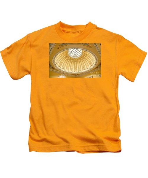 Virginia Capitol - Dome Profile Kids T-Shirt