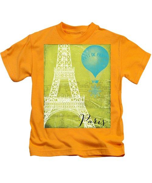 Viva La Paris Kids T-Shirt