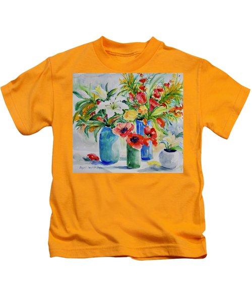 Watercolor Series No. 256 Kids T-Shirt