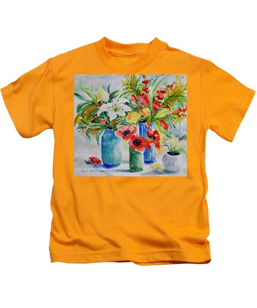 Watercolor Series No. 256 Kids T-Shirt