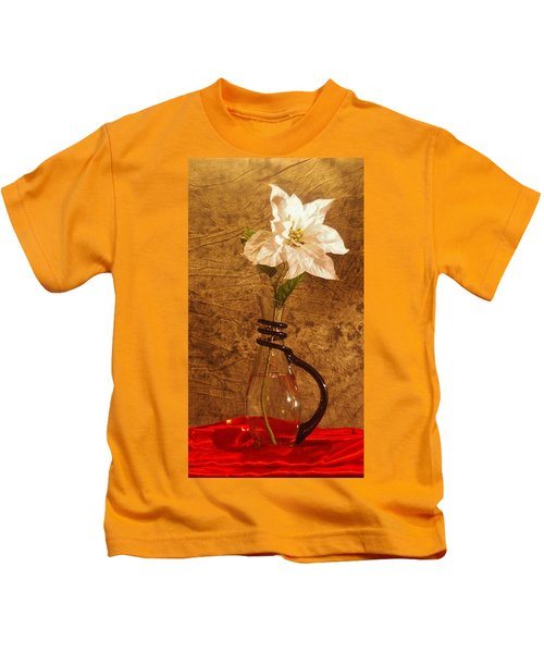 White Flower Kids T-Shirt