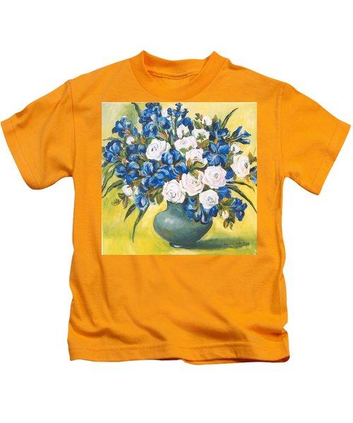 White Roses Kids T-Shirt