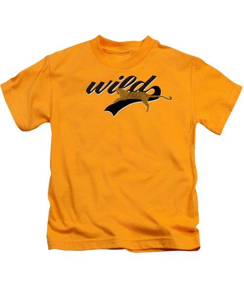 Wild Kids T-Shirt by Priscilla Wolfe