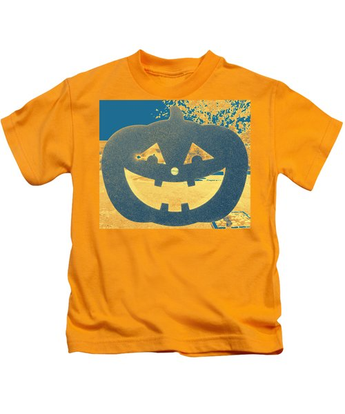 Window Pumpkin #2 Kids T-Shirt