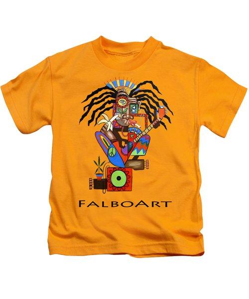 Ya Man 2 No Steel Drums Kids T-Shirt