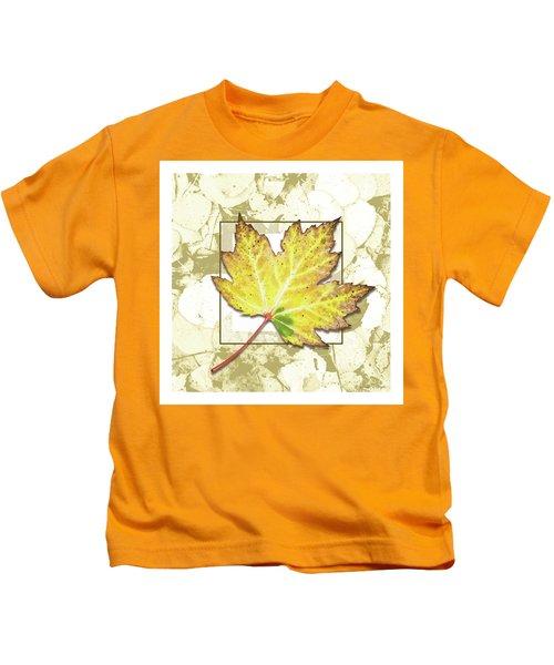 Yellow Fall Kids T-Shirt