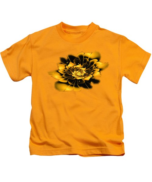 Yellow Flower Kids T-Shirt