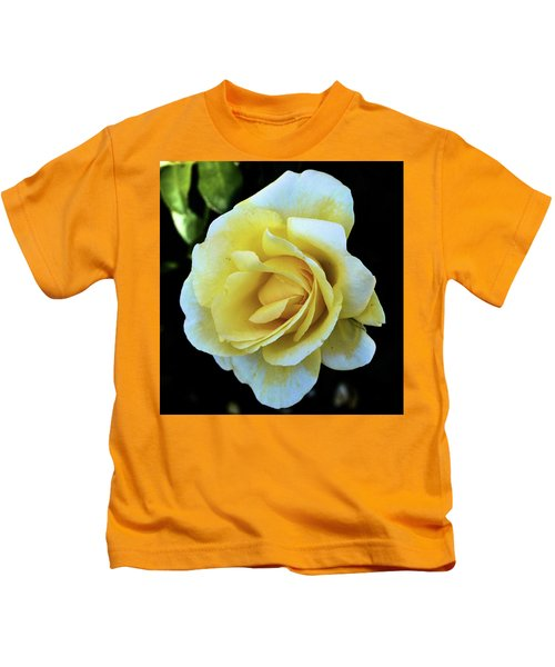 Yellow Rose Kids T-Shirt