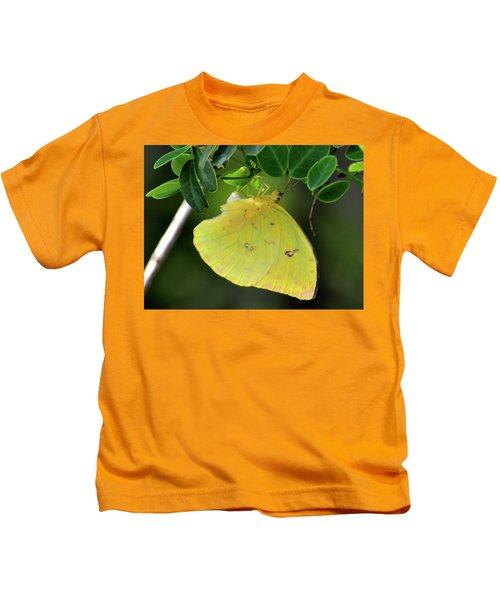 Yellow Sulfur Kids T-Shirt