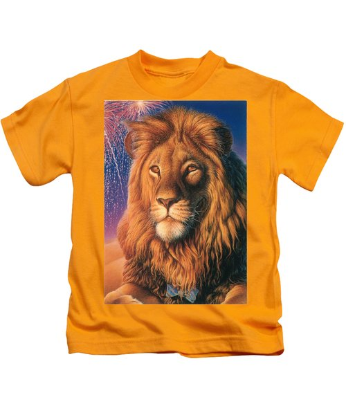 Zoofari Poster The Lion Kids T-Shirt