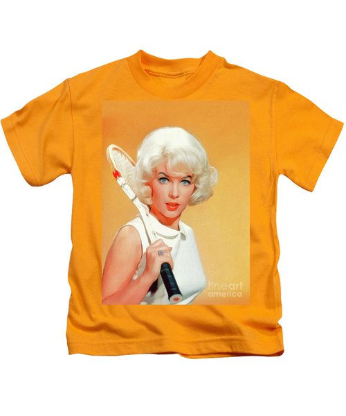 Stella Stevens, Vintage Actress Kids T-Shirt