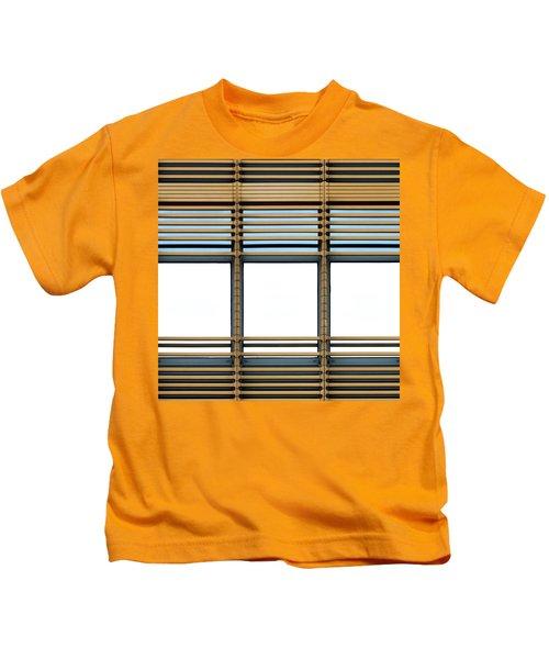 White Windows Kids T-Shirt
