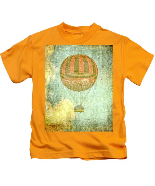 Among The Clouds Kids T-Shirt