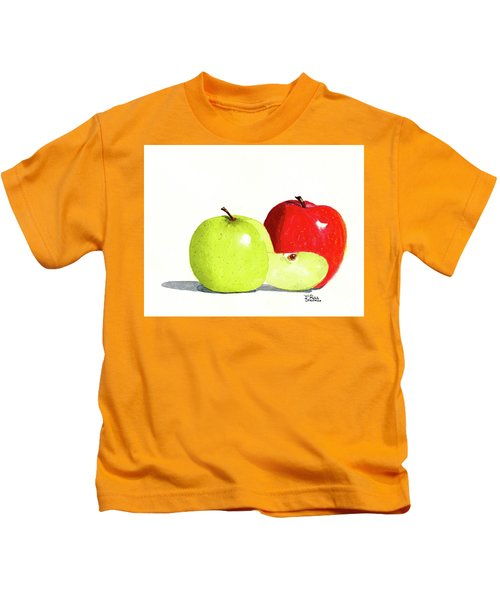 An Apple A Day Kids T-Shirt