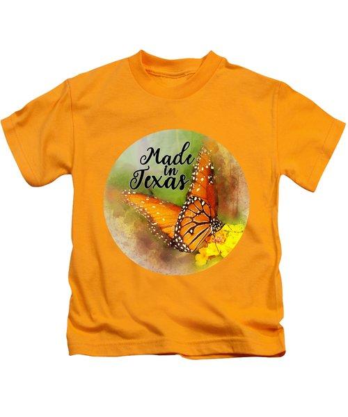 Made In Texas Kids T-Shirt