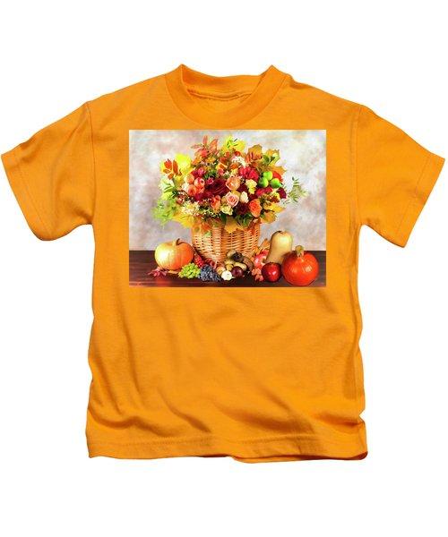 Autum Harvest Kids T-Shirt
