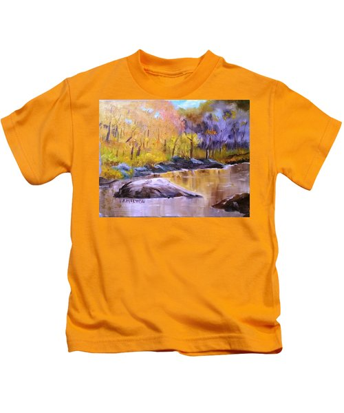 Autumn In New Hampshire Kids T-Shirt
