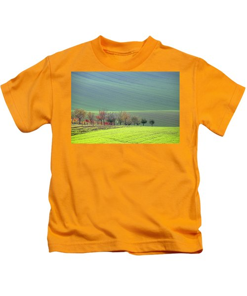 Autumn In South Moravia 18 Kids T-Shirt
