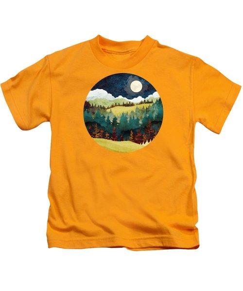 Autumn Moon Kids T-Shirt