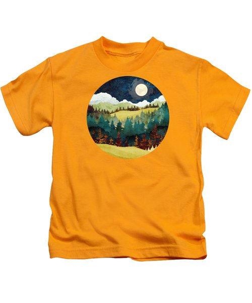 Autumn Moon Kids T-Shirt