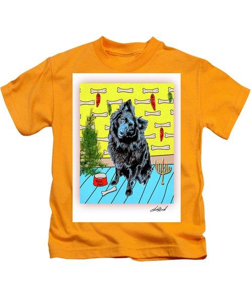 Bear Paw Holiday Kids T-Shirt