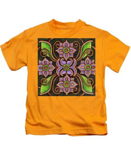Botanical Mandala 6 Kids T-Shirt