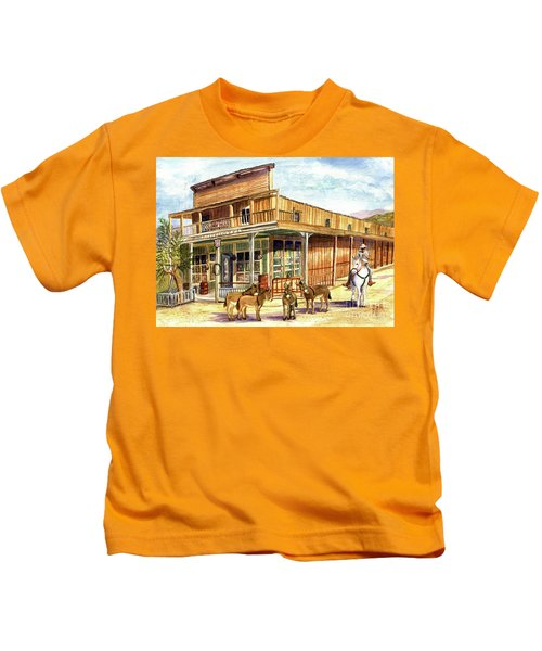 Burros Are Back In Town Kids T-Shirt