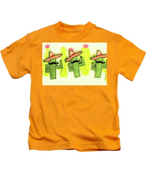 Chili Con Cacti Kids T-Shirt
