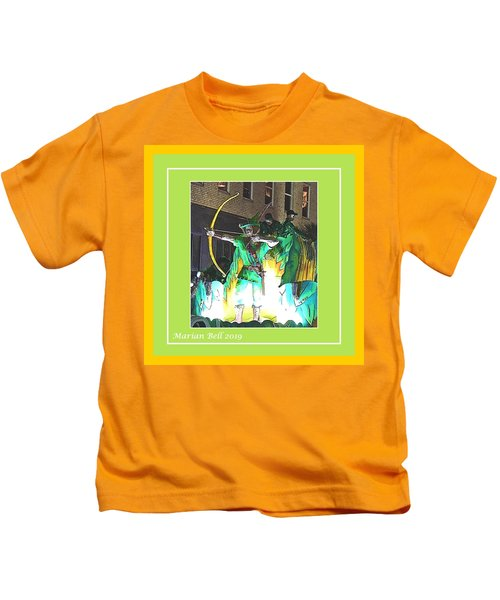 Conde Cavaliers - Robin Hood In Poster Edges Kids T-Shirt