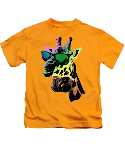 Cool Giraffe Kids T-Shirt