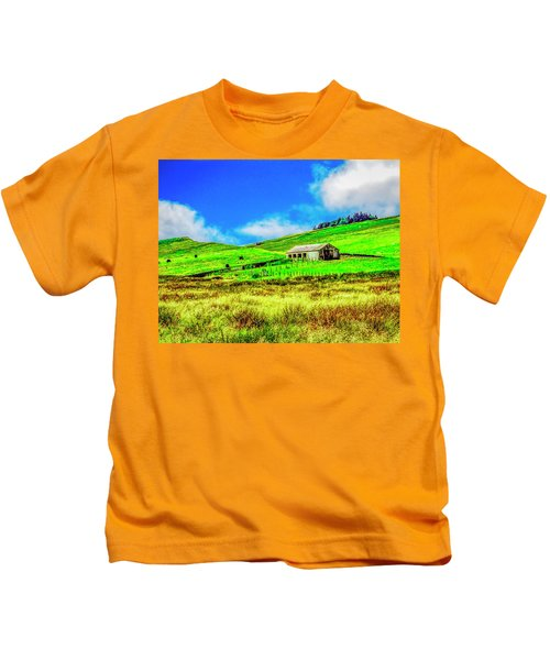 Cows Grazing Kids T-Shirt