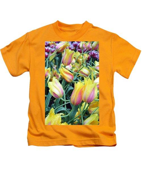 Crazy Tulips Kids T-Shirt